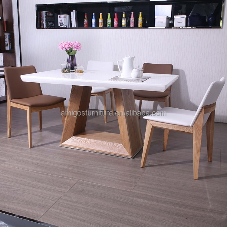 Modern dining table wooden dining table set quality dining table and