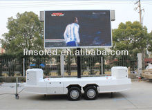 Mobile LED Screen Truck for Advertising Business
