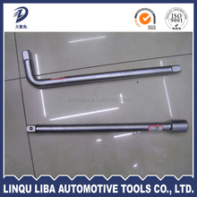 different material of L offset handle bent bar