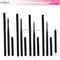 BNT0023 5PCS Beauty Nail Brush Eyeliner Face Powder Brush Nail Art Tools