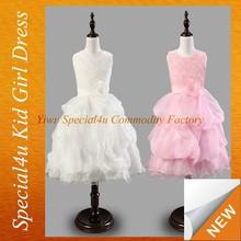 Crianças nova beleza vestidos de festa para crianças 11 anos SPXC-205