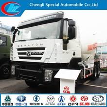 2015 nouveau design mixer camion lourd duty IVECO Genlyon bétonnière camion 6 X 4