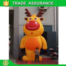 Custom best quality advertising event inflatable cartoon
