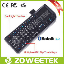 New Style Wireless Tablet PC Keyboard with Touchpad and Laser Pointer