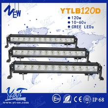 Accept Paypal ! universal remote control flash light120W led light bar waterproof IP68 led light bar for truck and trailer