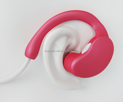 mobile phone accessories popular stereo bluetooth headphones, silicone wireless earphone rubber cover