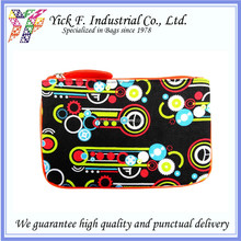 Abstract Pattern Small Canvas Multi-Pouch / Coin Purse