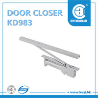 KD983 HOT SALE hydraulic adjustable concealed door closer , hydraulic door closer hinge , door closer sliding