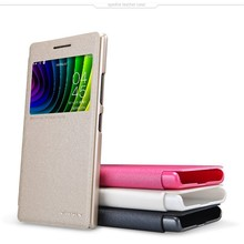 Nillkin Flip View Window PU Leather Case Cover For Lenovo P70