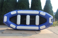 Inflatable River Boat For Fun , Rafting Boat AR-400 with 1.8mm pvc