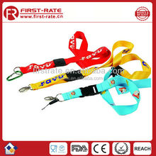 Customer Customized Polyester lanyards