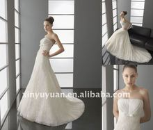 Hot! 2012 New Organza Open Back A Line Sweetheart Off The Shoulder Lace Princess Gown Wedding Dress Bridal Gowns A003 Dresses