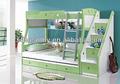 Mobiliario de hotel/cama litera/agradable de mdf de madera cama doble de diseño niños cama litera a07