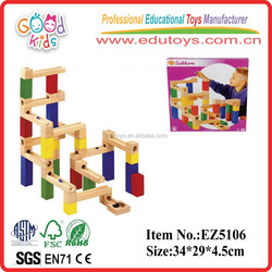 hot sale new product wooden toys track- conbination kids trix toys track EZ5106