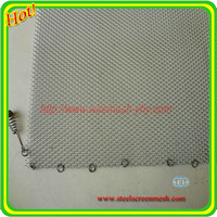 High quality colorful fireplace wire mesh curtain/fireplace mesh screen for curtain
