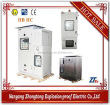 BXPK series explosion proof positive pressure metal electrical box for IIB IIC