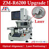 optical infrared preheating hot air rework station ZM-R6200 upgraded with laser positioning