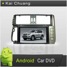 Fashion Android Toyota Prado 2010 Double Din Car DVD Player with GPS,Toyota Prado 2010 DVD with Radio,BT,TV