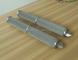 strong acid and alkaline filtration stainless steel 316L filter cartridge