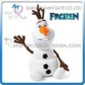 Mini Qute Nuevo muy vendido 22 y 30 y 50 cm Juguetes de peluche de dibujos Kawaii Frozen muñeca princesa Anna y Elsa Olaf regalo para niños