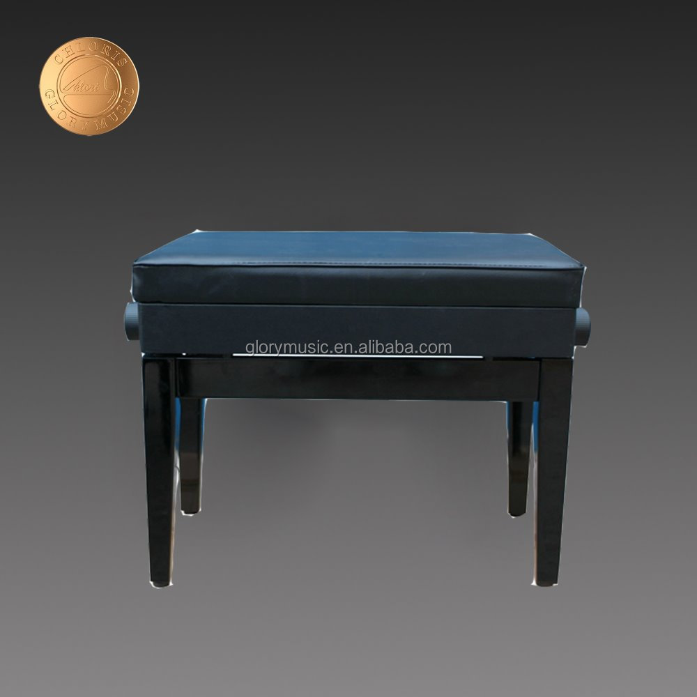 Adjustable Wooden Piano Bench Hs 018ep Wooden Chair