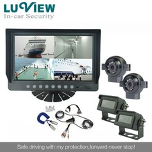 Taxi Security Rear View Camera System 9 inch Qual Monitor