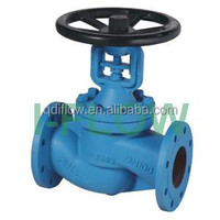 Best Quality!DIN3356 PN16 CAST IRON BELLOW GLOBE VALVE