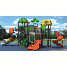 Ce parque infantil ao ar livre LZ-H2126 forest park equipamentos de playground para venda