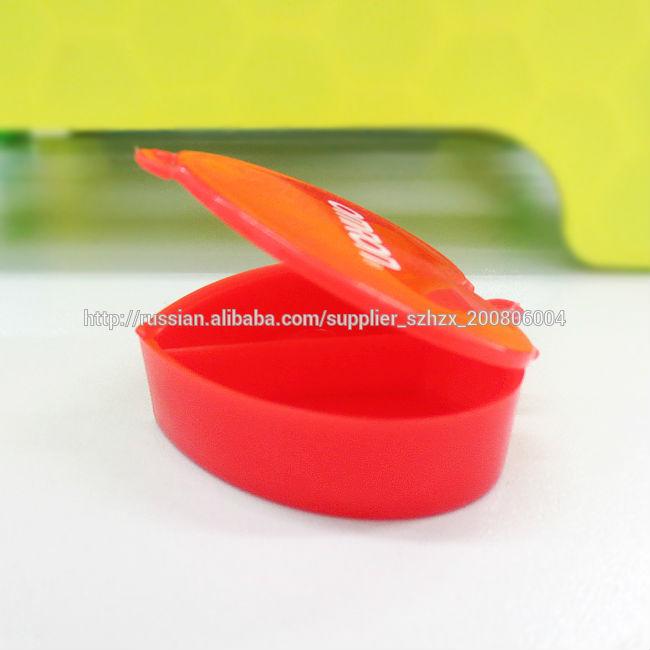 PP Пластиковый брелок Брелок Pill Box Многофункциональный