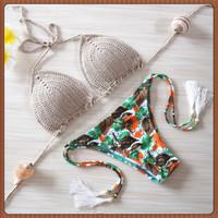 2015 New Style Brand New Bikini Sexy Swimwear Brazilian bathing suit