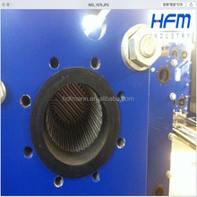 Types of gasket material, plate and gasket for heat exchanger