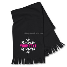 2015 custom made knitted football scarf pattern