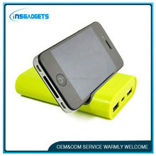 H0T127 8000mah portable power bank,mobile power bank with phone holder