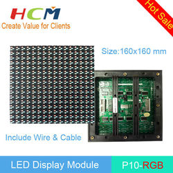 Outdoor Usage LED Display Module P10 Fullcolor xx video function China manufacturer supplier