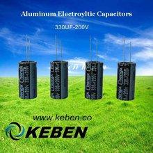 GW 330UF 200V aluminum electrolytic capacitors