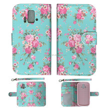 Flip Printed Hybrid Cute PU Leather Wallet ID Card Holder Cover Case for ZTE RADIANT Z740G