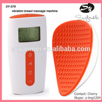 Newest portable mini electric vibration nude breast massage for females