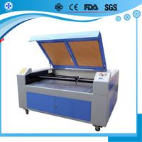 co2 cloth laser cutting machine For Acrylic, fabrics, leather, cloth, paper, bamboo and wooden product,low price co2 laser cut