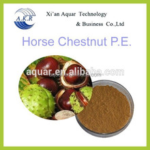 100% Natural Aescin or Escin 20%--98% Horse Chestnut Seed P.E.