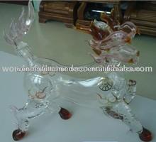 kylin glass bottle/750ml glass wine bottles wholesale/glass spirit bottles