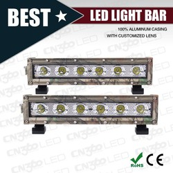 Single Row Camouflage LED Light Bar for Truck ATV SUV Roof Top LED Light Bar