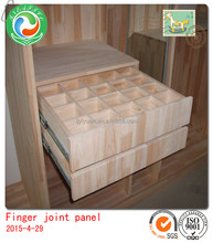 AA grade solid rubber wood finger joint panel for furniture