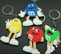 customized metal 3d promotional trolley coin keychain/key chain/ keyring