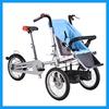 Two-Way Outdoor Baby Bike Seat Stroller