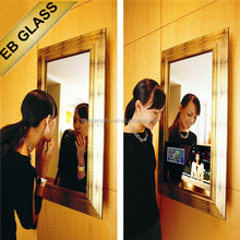frameless magic mirror manufacturer ,multimedia mirror glass furniture BRAND