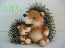 Hedgehog decoration for 2012 QY11-B013