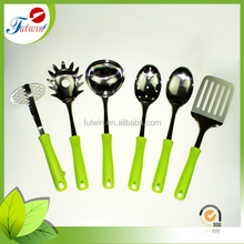Hot sell 6-pcs non-toxic Stainless steel kitchen utensils kitchen tool