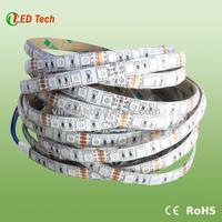 2015 china manufacturer Waterproof Cold White 5050 tira de LED Lights 12V