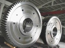 Large Diameter Ring Gears for Ball Mill /large diameter spur gear OEM/ring gear for cement mixer OEM