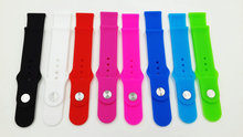 Silicon Rubber Watch Band For apple Mix Colors Wristwatch Bands